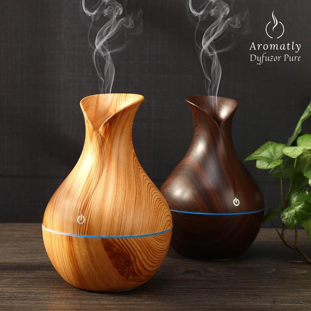 dyfuzor do aromaterapii, nawilżacz powietrza aromatly