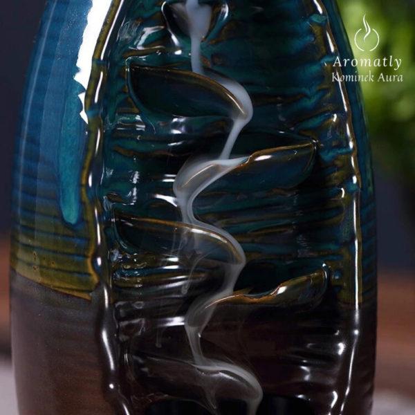 Kadzidło backflow Aromatly Aura - Ceramiczny kominek zapachowy
