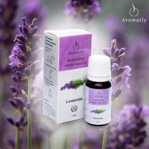 Naturalny Olejek Eteryczny Do Aromaterapii Aromatly Lawenda