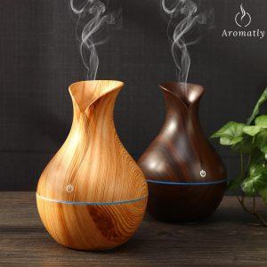 dyfuzor do aromaterapii aromatly pure nawilżacz powietrza